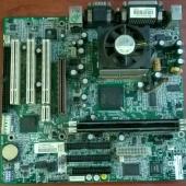 системная плата HP Mitac 6515WU + (Celer366, 192Mb) mATX