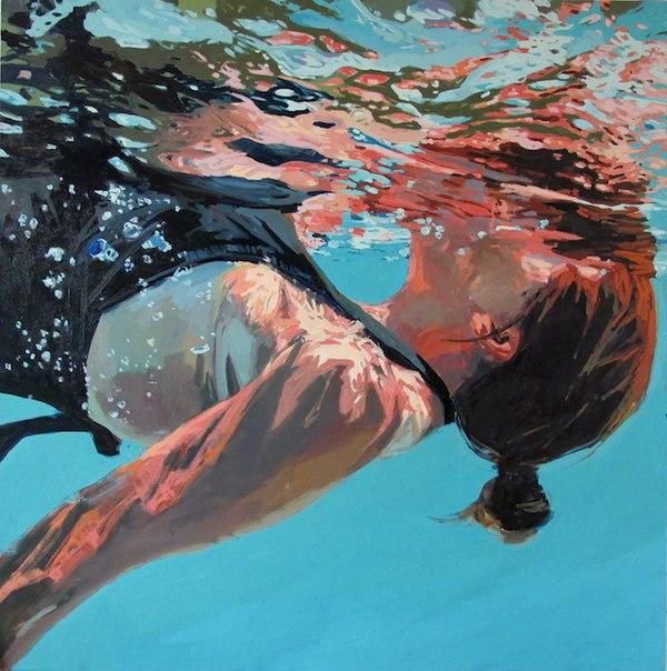 underwater paintings artwork - 800×805