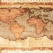 """Гобеленовое панно """"Карта"""" (140*200) Горизонтальное."""
