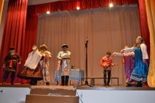 «Театральные  встречи» с жителями  села