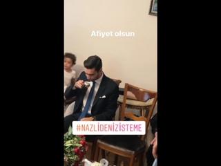 Обручение Дениза Догулу, брат Кадира муж Неслихан. (Нихан).
