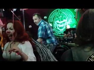 """Live ВИА ГАДЫ ( на вечеринке HALLOWEEN в Клаб-Хаус """"ДОМ ПРИЗРАКОВ"""")"""