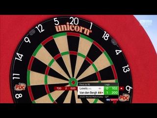 Adrian Lewis vs Dimitri Van den Bergh (PDC World Matchplay 2020 / Quarter Final)