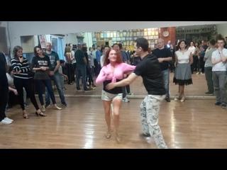Презентационный танец salsa от Тимура Мамажанова и Маргариты Голик