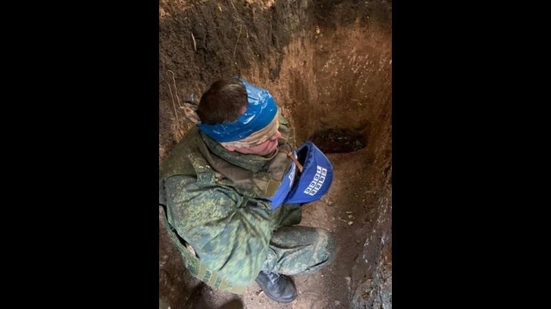 СБУ выложила видео допроса похищенного офицера ЛНР Андрея Косяка