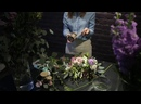 Создание букета невесты