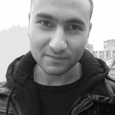 Рисунок профиля (Рубен Енгибарян)