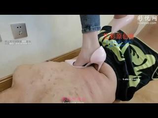 Video by Trampling  / Foot-fetish