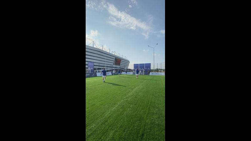 Игра против бывших футболистов Зенита и Локомотива