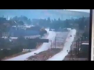 Подрыв российско-турецкой колонны в Сирии. 3 раненых.