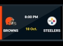 NFL 2020-2021, Week 06, Cleveland Browns - Pittsburgh Steelers, RU, Viasat Sport HD live stream