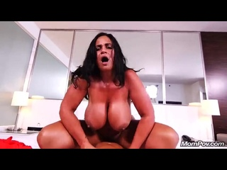 MomPOV Handjob Porn Brunette Busty Slut Gets A Huge Cock In Her Hairy Pussy In POV Style, Big natural tits Kailani 18+