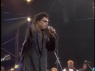 James Brown,  Bo Diddley,  Ray Charles,  Little Richard,  Jerry Lee Lewis,  Fats Domino,  B.B. King — All Star Jam