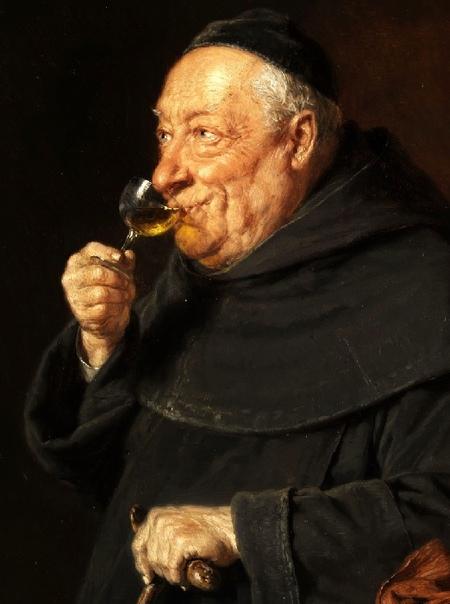 Монахи-пивовары Эдуарда фон Грютцнера Немецкий художник Эдуард фон Грютцнер, творивший на рубеже 19-20 столетий, был превосходным знатоком душ человеческих и их слабостей. Он создал целую