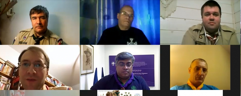 Встреча курсантов XXXIII КДР ОРЮР с директором евразийского регионального бюро ВОСД Шринатом Тирумале.