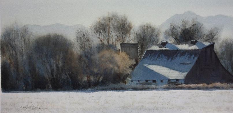 Американский художник-акварелист. Robert McFarland, изображение №33