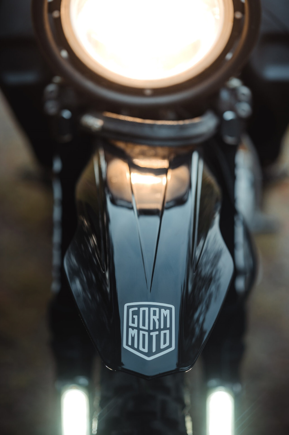 Горм Таубе: эндуро Honda Dominator