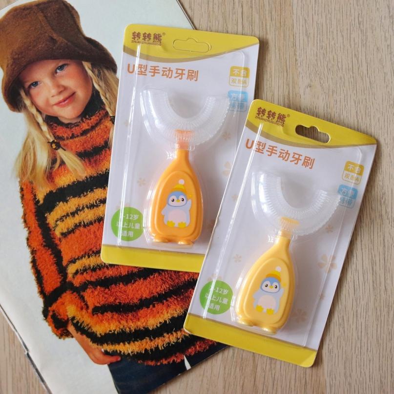 Интересная детская зубная щётка из магазина Smgslib Baby products Store.