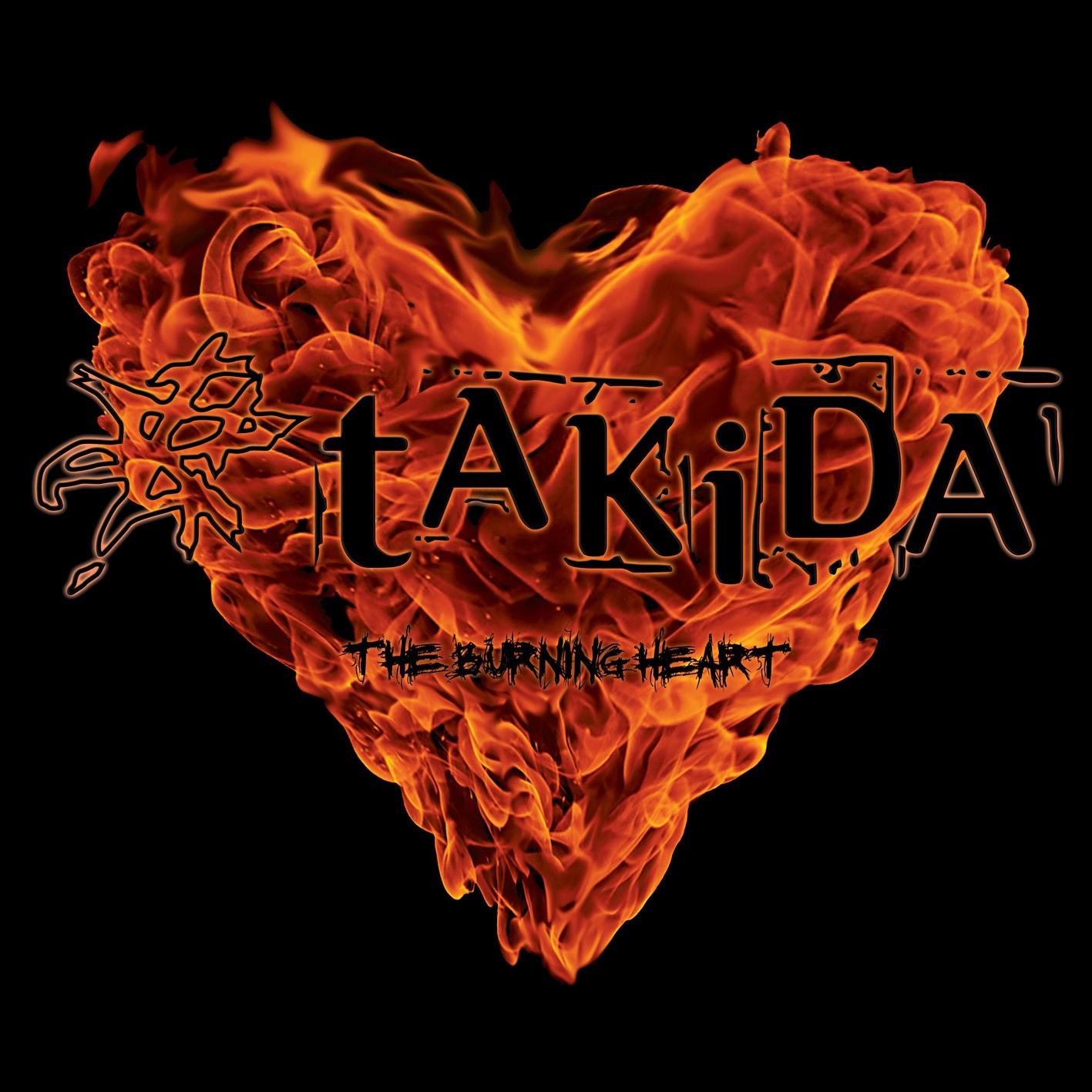 Takida album The Burning Heart