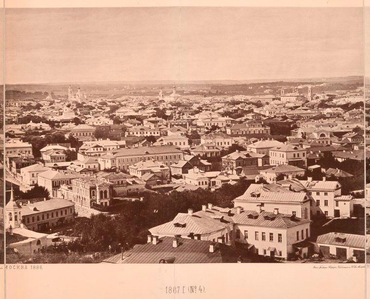 Москва без людей в 1867 году. Где все люди?, изображение №17
