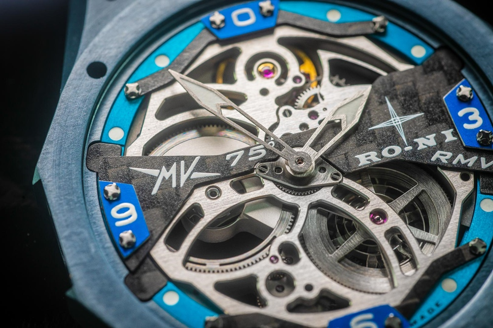 MV Agusta x RO-NI: часы RMV