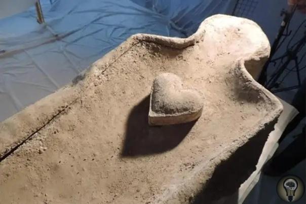 Во Франции в элитной свинцовой гробнице нашли забальзамированное сердце Сотрудники Национального института превентивных археологических исследований Франции (Inrap) при проведении раскопок на