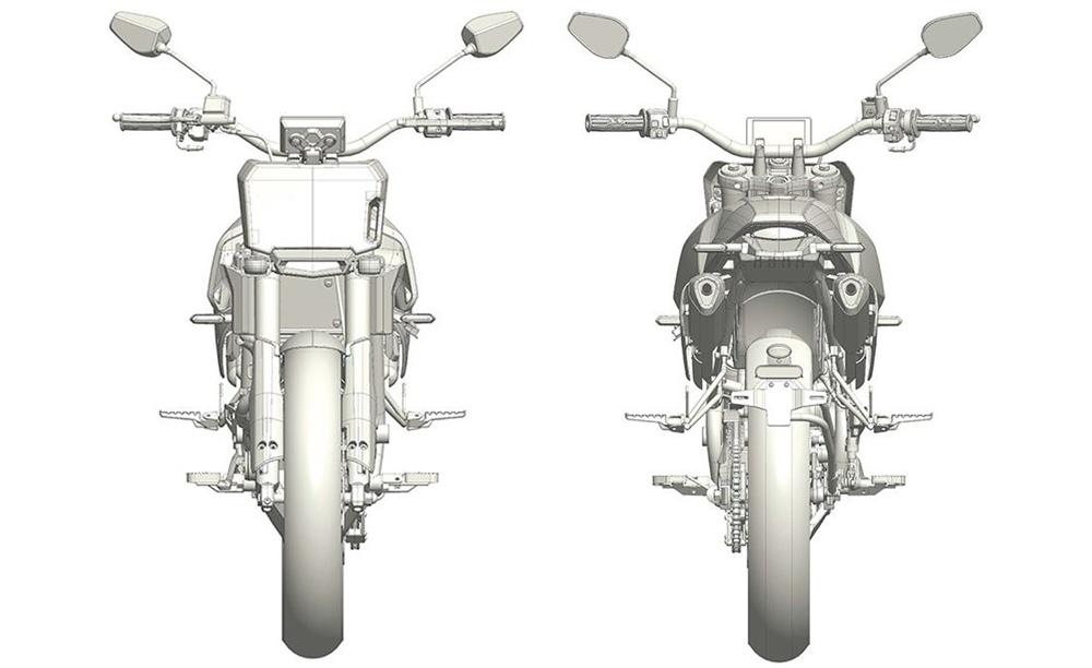Китайский флэт-трекер Aprilia засветился в патенте