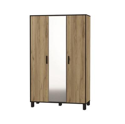 Спальня «Лофт» № 3 шкаф 3-х створчатый