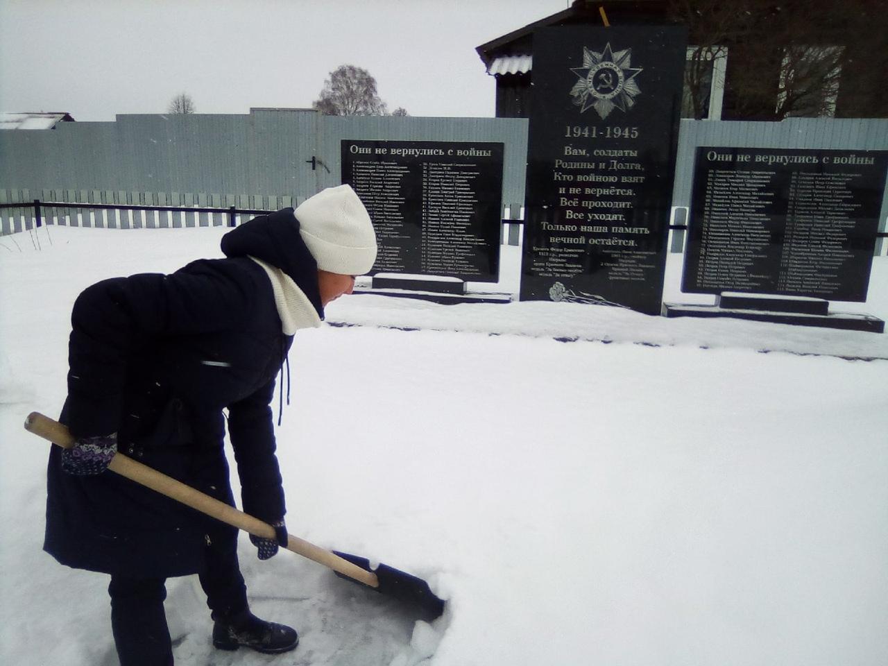 Школьники из Можгинского района сделали хорошее дело.