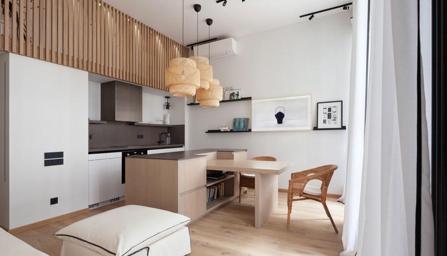Интерьер квартиры 39 кв.
