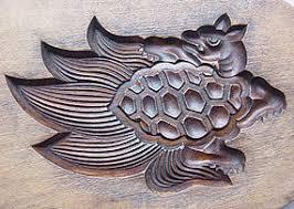 Японские деревянные резные формы Кашигата, изображение №26