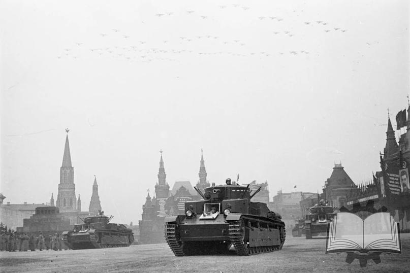 """Изначально создававшиеся как """"маневренные"""" танки, Т-28 по факту сводили в танковые полки РГК, которые с конца 1935 года стали переформировывать в тяжелые танковые бригады. Туда же шли и Т-35."""