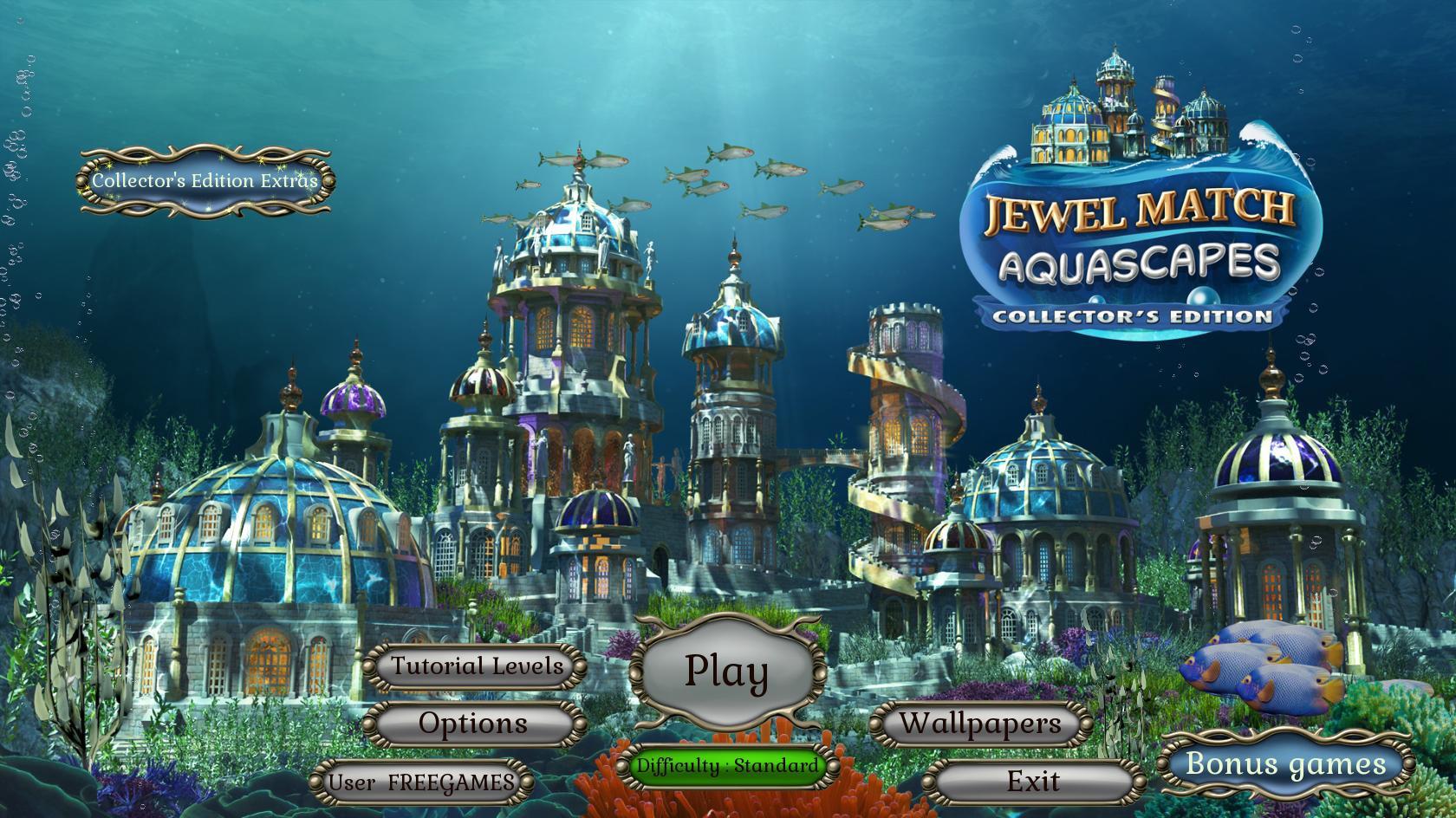 Jewel Match. Aquascapes Collector's Edition (En)