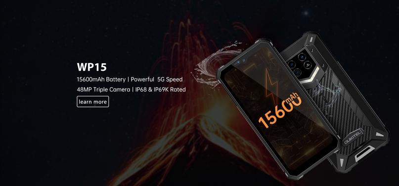 Неубиваемый смартфон с аккумулятором на 15 600 мА•ч, NFC и массой почти 500 г: п...