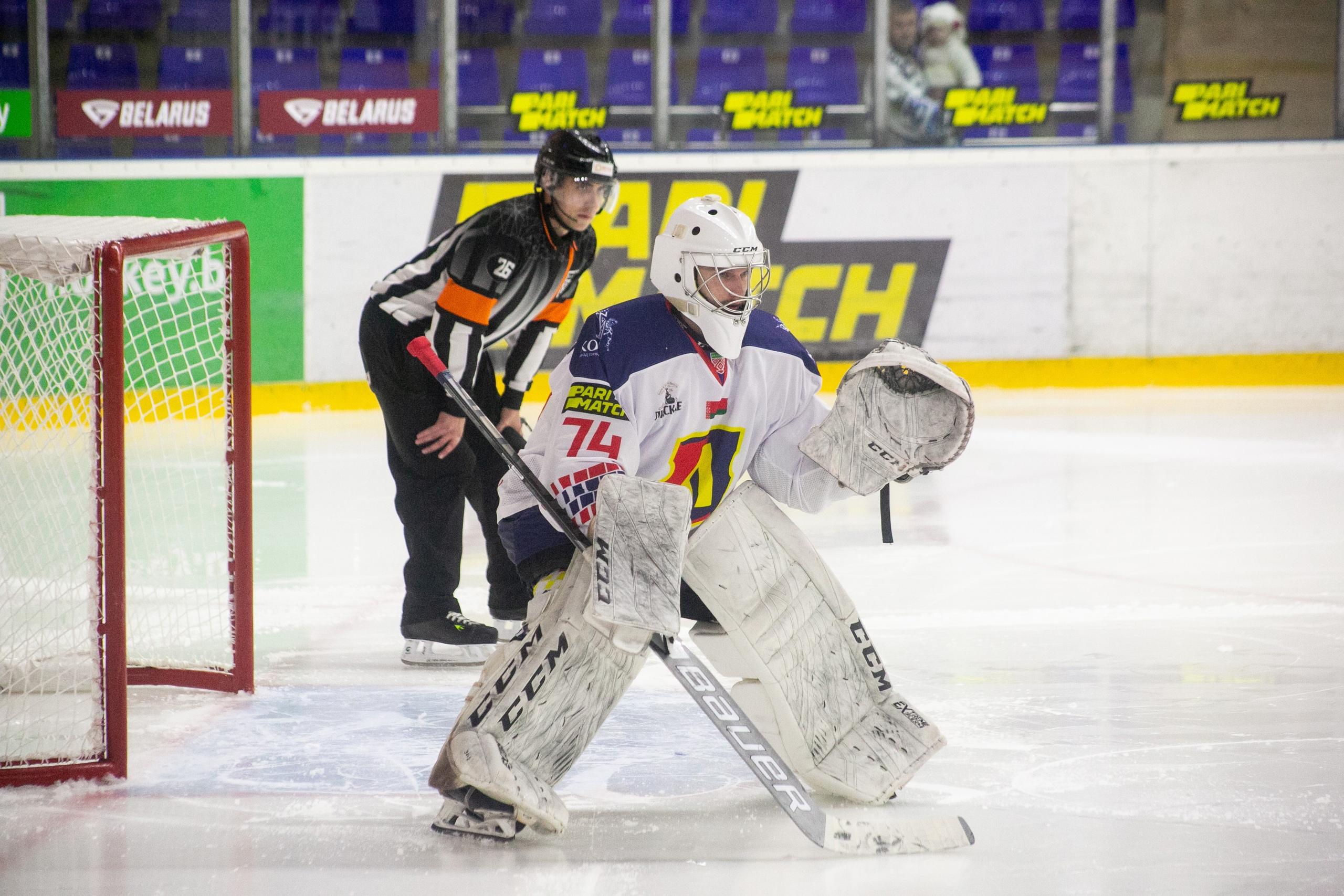 Хоккейный клуб «Лида» в стартовом матче нового розыгрыша экстралиги уступил «Химику»