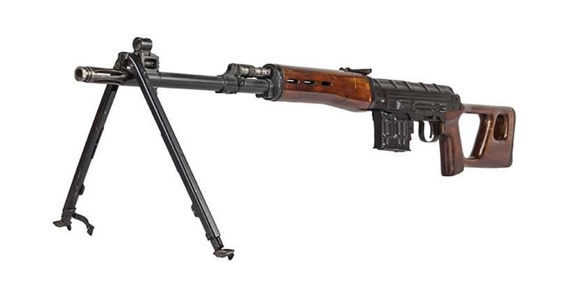 Автоматическая снайперская винтовка В-70, 1970 годМ. Попенкер