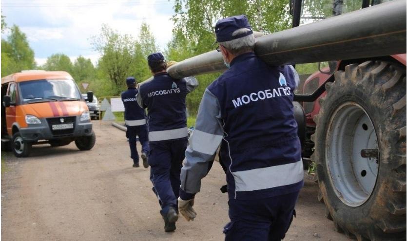 Голубое топливо централизовано пришло в деревню Парашино Талдомского городского округа
