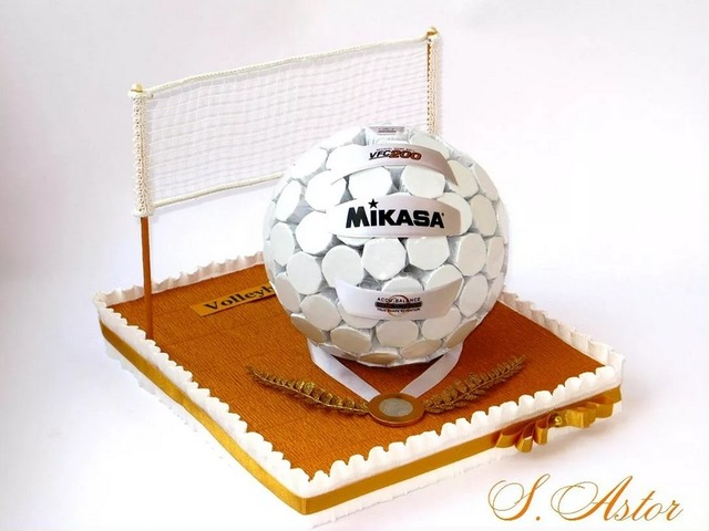 Как сделать футбольный мяч из конфет своими руками мастер-класс,