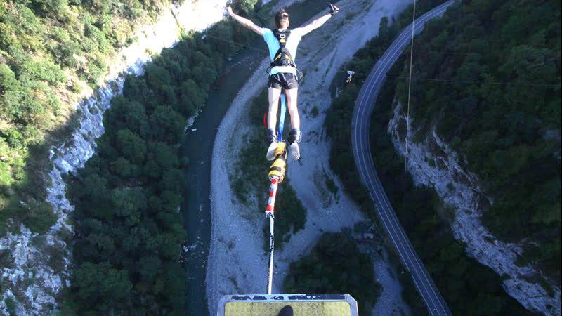 Прыжок с 207 метров Сочи SkyPark