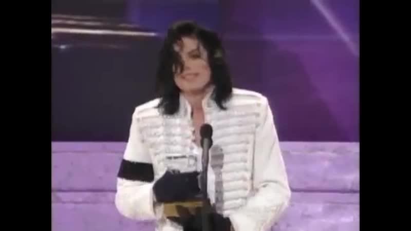 Michael Jackson Gives A Beautiful Speech At the Grammy Legend Awards 2