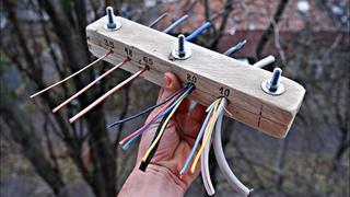 Как очистить Провода от Изоляции | Супер Станок для разделки кабеля Своими Руками.