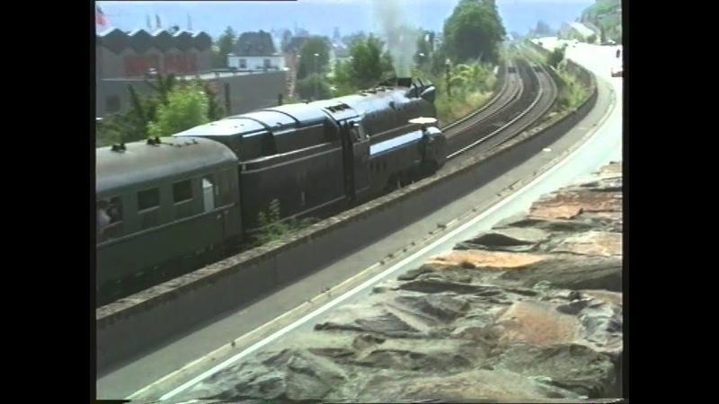 Die 01 1102 Das Blaue Ungeheuer am Rhein und an der Ahr 1999