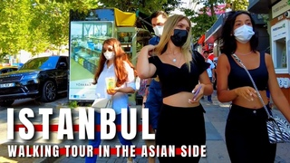 Istanbul Üsküdar |Walking Tour In One Of The Most Populated Districts 23July 2021 |4k UHD 60fps
