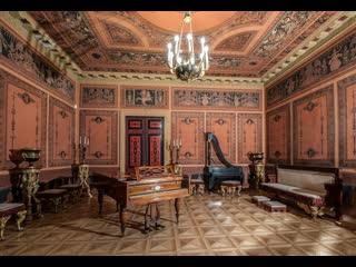 Путешествие с Музеем музыки вокруг света, Видеоэкскурсия по коллекции музыкальных инструментов Шереметевского дворца.