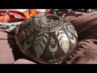 Phrygian Hexatonic Handmade steel tongue drum