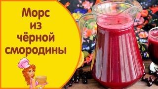 Морс из свежей чёрной смородины, правильный рецепт полезного напитка