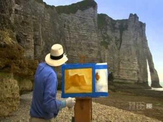 """""""Пейзажи сквозь время""""- Этрета, Франция  Пейзаж, дающий вдохновение"""