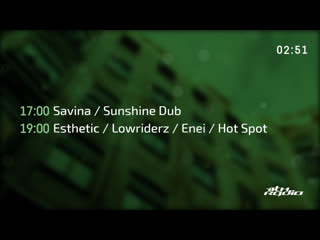 Savina and Sunshine Dub / Enei, Lowriderz, Esthetic and Hot Spot - Xtra / Stratosphere. @ 11th Radio
