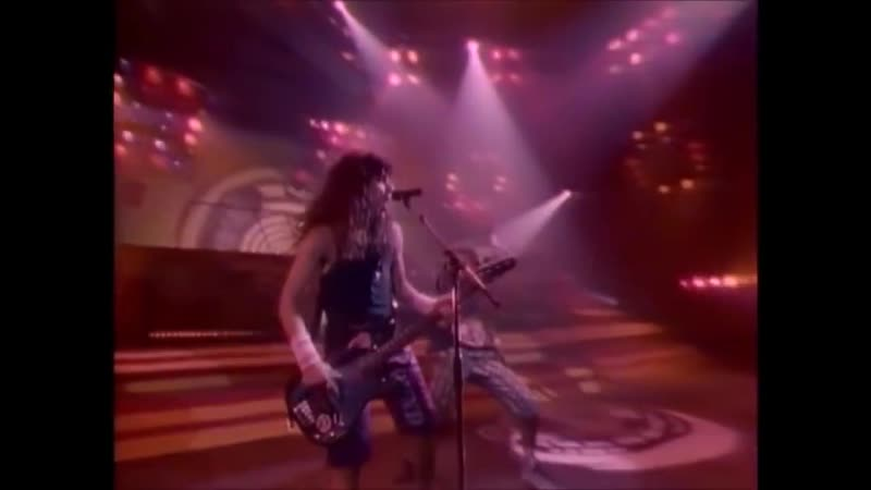 Anthrax Antisocial Trust cover 1988 Official Video