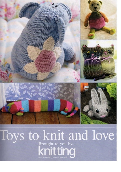 Toys to knit and love
